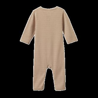 Pointelle Henley Pyjama Suit