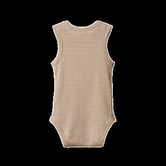 Pointelle Singlet Bodysuit