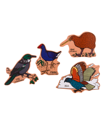 Birds of New Zealand Magnets