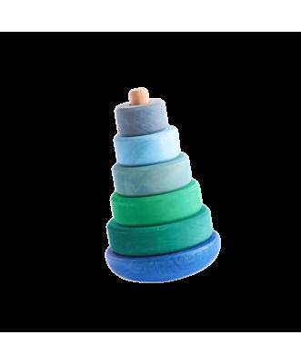 Blue/Green Wobble Tower